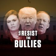Tell White House reporters: Don't let Trump bully the media. Resist the Trump administration's attempts to censor press briefings.
