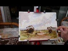 Watercoloring demos with Alan Owen