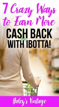 7 Crazy Ways to Earn More Cash Back with #Ibotta! - Groceries are crazy expensive especially when you are trying to feed kids! Learn how I maximize my Ibotta #rebates and earn more cash back.