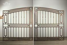 Reclaimed Art Deco Drive / Entrance Gates
