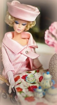 Vintage Barbie Tea Time ~Debbie Orcutt ❤