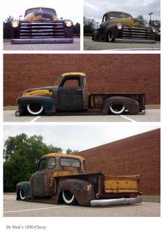 Slammed Truck