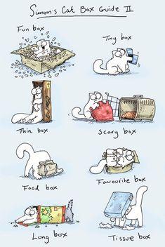 Simon's Cat Box Guide No. II everyone loves Simon :)