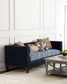Hanley Sofa by Massoud at Neiman Marcus.
