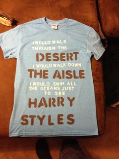 I need this! One direction harry styles shirt