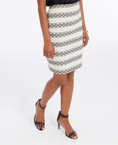 Shop Michelle's picks — http://www.anntaylor.com/embroidered-stripe-pencil-...