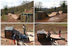 Mini Pallet Skatepark
