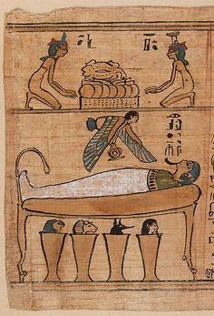 Livre des Morts de Khonsoumès Site officiel du musée du Louvre