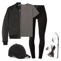 """now I'm in another world when the flow emerge"" by michellealysia ❤ liked on Polyvore featuring J Brand, Billabong, T By Alexander Wang, BCBGeneration and NIKE"
