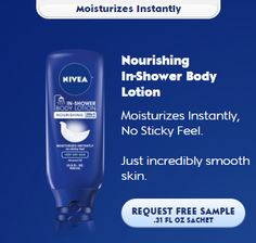 Freebies Offer: FREE Nourishing In-Shower Body Lotion Sample : #Deals, #Free/Cheap, #Freebies Check it out here!!