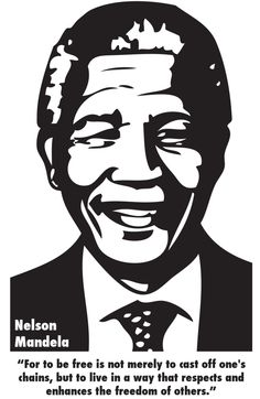 Nelson Mandela Shadow drawing black and white Nelson Mandela, Mandela Art, Mandela Drawing, Stencils, Stencil Art, White Art, Black Art, Arte Bob Marley, Art Sketches