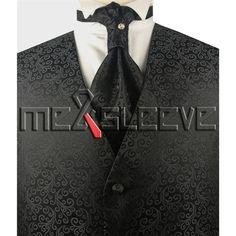 new arrive formal wear waistcoat (vest+ascot tie+cufflink+handkerchief) Ascot Ties, Formal Wear, Blazer Suit, Cufflinks, Vest, Mens Fashion, Fabric, How To Wear, Blazers