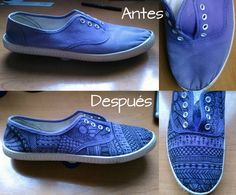 leticia sneakers diy