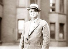 Bat Masterson - later in life, worked as a newspaper editor......