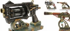 steampunk weapons - Google Search