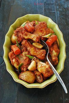 닭도리탕  Dakdoritang (Korean Spicy Chicken Stew) | Korean Bapsang