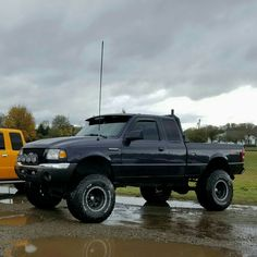 Check this out! I actually enjoy this colouring scheme for this Custom Ford Ranger, Ford Ranger Lifted, Ranger 4x4, Ford Ranger Truck, Lifted Ford Trucks, 4x4 Trucks, Cool Trucks, Truck Accesories, Ford Girl
