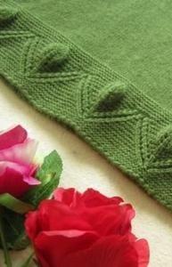 knitting pattern tulips