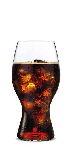 Coca-Cola + Riedel Glass - Really enjoy your coke.