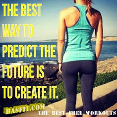 inspirational workout poster