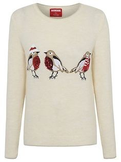 Christmas Sequin Robin Jumper, read reviews and buy online at George at ASDA. Shop from our latest range in Women. You'll be rockin' around the Christmas tre...