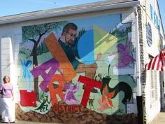 2nd Mural dedicated on June 16, 2012.  We LOVE Public Art!!!
