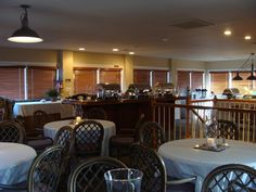 Savannahs, a great option for a private location for a rehearsal dinner. It's above our Ocean Creek Golf Pro Shop with great views of the golf course too!