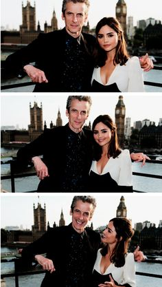"""I feel like I'm a terrible gushing chap. Jenna has been absolutely incredible. My favourite thing about joining Doctor Who has been working with Jenna. She does everything with such grace and class."" - Peter Capaldi"