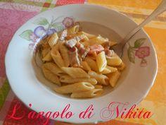 Pennette+pancetta+e+pomodorini
