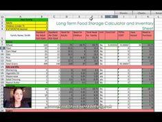 Long Term Food Storage Calculator - http://prepping.fivedollararmy.com/uncategorized/long-term-food-storage-calculator/