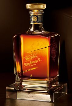 Johnny Walker Blue Label - King George V Edition - Blended Scotch Whisky