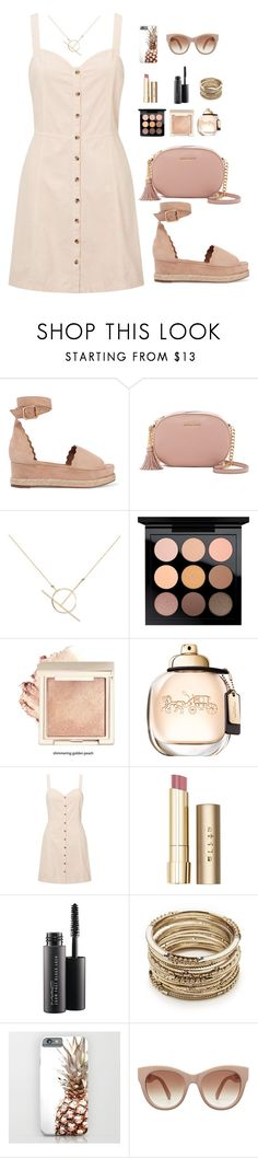 """""""A shoe offers so much more than just walking"""" by chase-stars ❤ liked on Polyvore featuring Chloé, MICHAEL Michael Kors, A Weathered Penny, MAC Cosmetics, Miss Selfridge, Stila and Sole Society"""