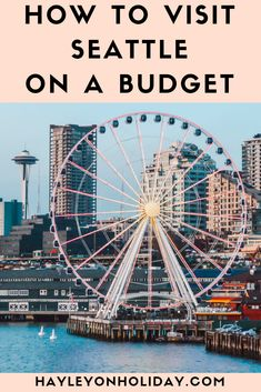 Here's how to see Seattle on a budget, including the best free (and cheap) things to do in Seattle, as well as a budget accommodation recommendation. Seattle To Do, Seattle Places To Visit, Seattle Sights, Things To Do Seattle, Seattle Vacation, Washington Things To Do, Seattle Washington, Washington State, Usa Roadtrip