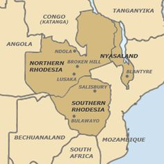 The country of Zambia was originally a part of Rhodesia called Northern Rhodesia. When Northern Rhodesia became independent, it changed its name to Zambia and became a new country. The Grass Is Singing, South African Air Force, City Of God, Declaration Of Independence, African Safari, Zimbabwe, African History, Africa Travel, Congo