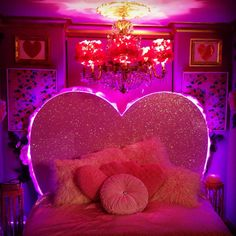 pink, room, and aesthetic image Neon Room, Pink Room, Dream Rooms, Dream Bedroom, Room Ideas Bedroom, Bedroom Decor, Room Goals, Aesthetic Room Decor, Pink Aesthetic