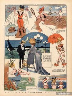 René Préjelan (1877 – 1968). A la Mer, 1905. [Pinned 14-x-2015]