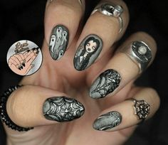 Gallery Follows the Text HOLD THE PHONE! Do not schedule your weekend manicure before taking a long, hard look at this list. Nail art is conquering the internet—there are so many insane designs pop...
