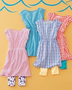 Avery Knit Dress, perfect for girls on the go!