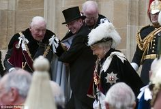 procession of The Order Of The Garter