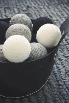 likainen parketti: DIY- joulupallo/christmas ball