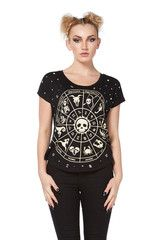 Astrology T-Shirt Top by Jawbreaker - 1706