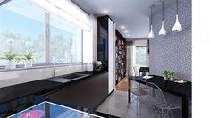 Projekt domu D102C 126,45 m2 - koszt budowy - EXTRADOM Kitchen Island, Home Decor, Island Kitchen, Decoration Home, Room Decor, Home Interior Design, Home Decoration, Interior Design