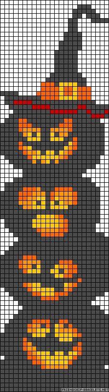Free Halloween Cross Stitch Chart