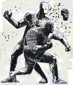 Desde el barrio de Brooklyn (New York) llega este director de arte e ilustrador llamado Gian Galang. Desde su modesto estudio crea estos geniales trabajos, mayormente en blanco y negro o a un solo tono. La verdad es que la mayor parte de su obra se centra en la representación de deportistas como boxeadores, jugadores de basket o luchadores practicando artes marciales. También podéis seguirle en instagram. Guardar