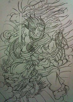 đẹp Japanese Warrior Tattoo, Japanese Drawings, Japanese Tattoo Art, Japanese Tattoo Designs, Japanese Art, Hannya Tattoo, Irezumi Tattoos, 1 Tattoo, Traditional Japanese Tattoos