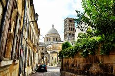 Peeking at the Angoulême Cathedral, France - LandLopers