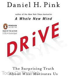 Drive The Surprising Truth About What Motivates Us CD Audiobook Daniel H. Pink