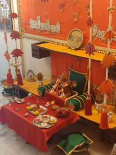 Decoration For Ganpati, Ideas, Home Decor, Interior Design, Home Interior Design, Home Decoration, Decoration Home, Interior Decorating