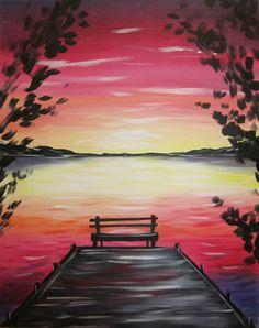 Sunset Dock.