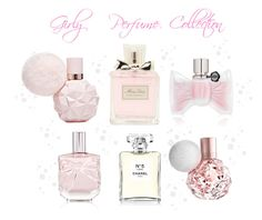 """Girly Perfume Collection ♡"" by xx-isabella-xx on Polyvore featuring Christian Dior, Viktor & Rolf, Victoria's Secret and Chanel"